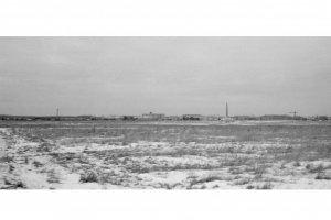 """Возможно, вид на  """"Гранитный """", труба котельной МКК.  Фото из архива Аргунова Е.И. основное фото новое фото план-схема..."""