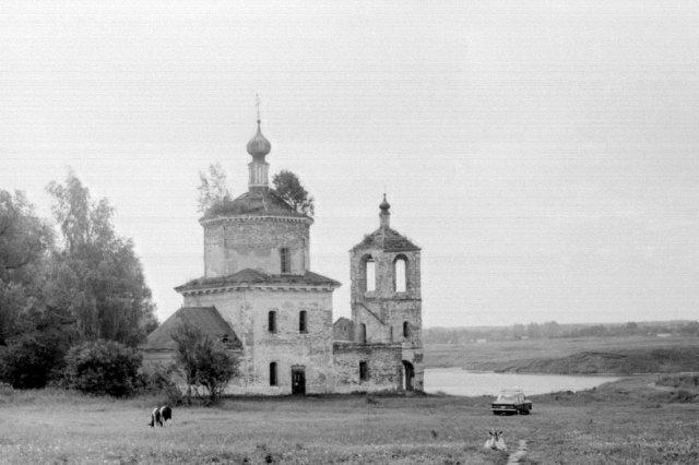 1971 - Спасский храм в Павельцево