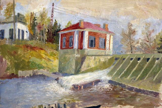 1930 - Мысовская сельская гидроэлектростанция