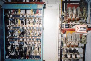 Современное оборудование РУ-0,4кВ со станцией АВР.  Фото из архива Аверьянова В.И. основное фото новое фото...